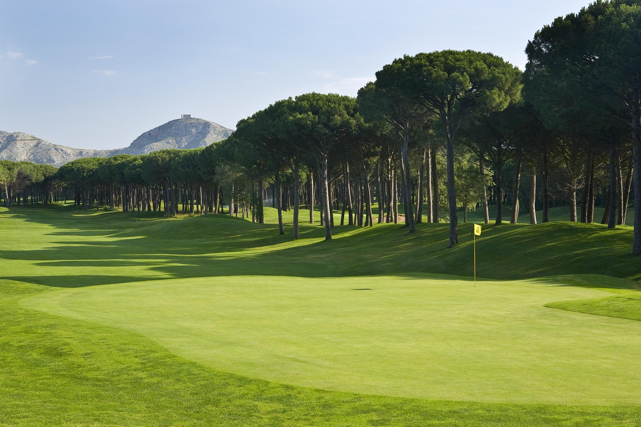 Emporda Golf #16 Forest